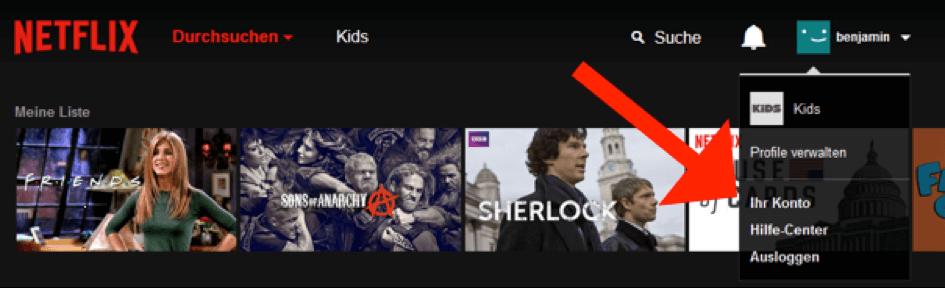 Netflix kündigen 2