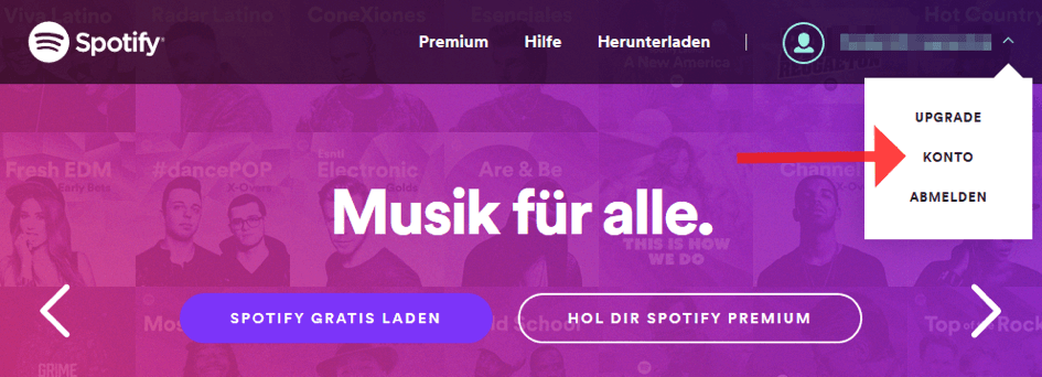 Spotify kündigen 1
