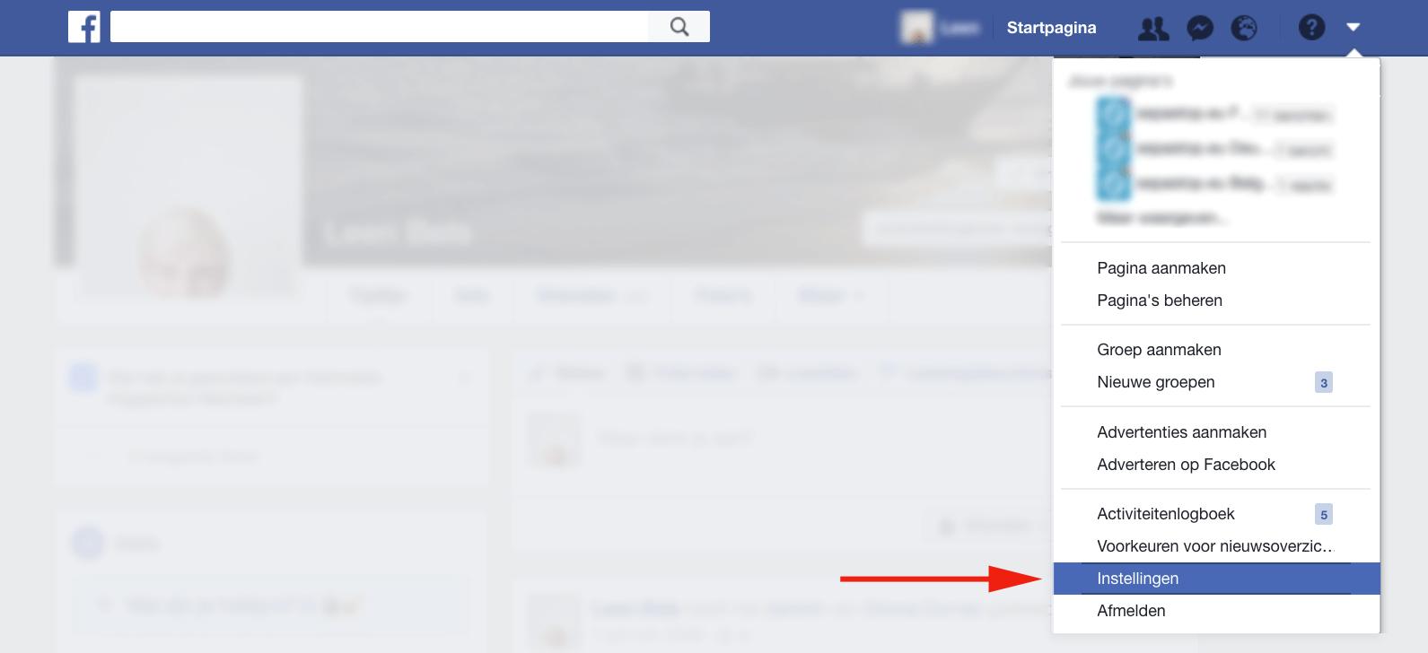 facebook tijdelijk deactiveren