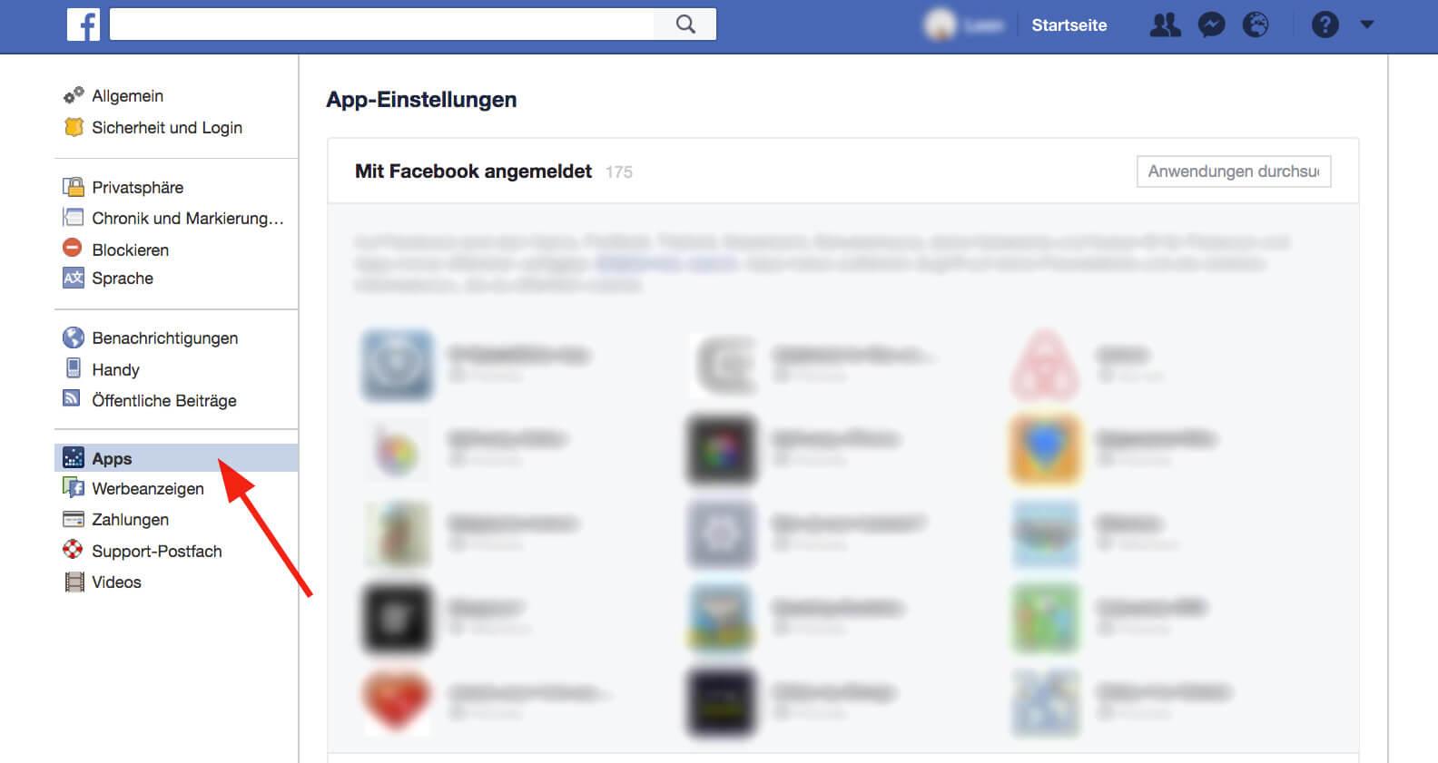 Facebook - apps