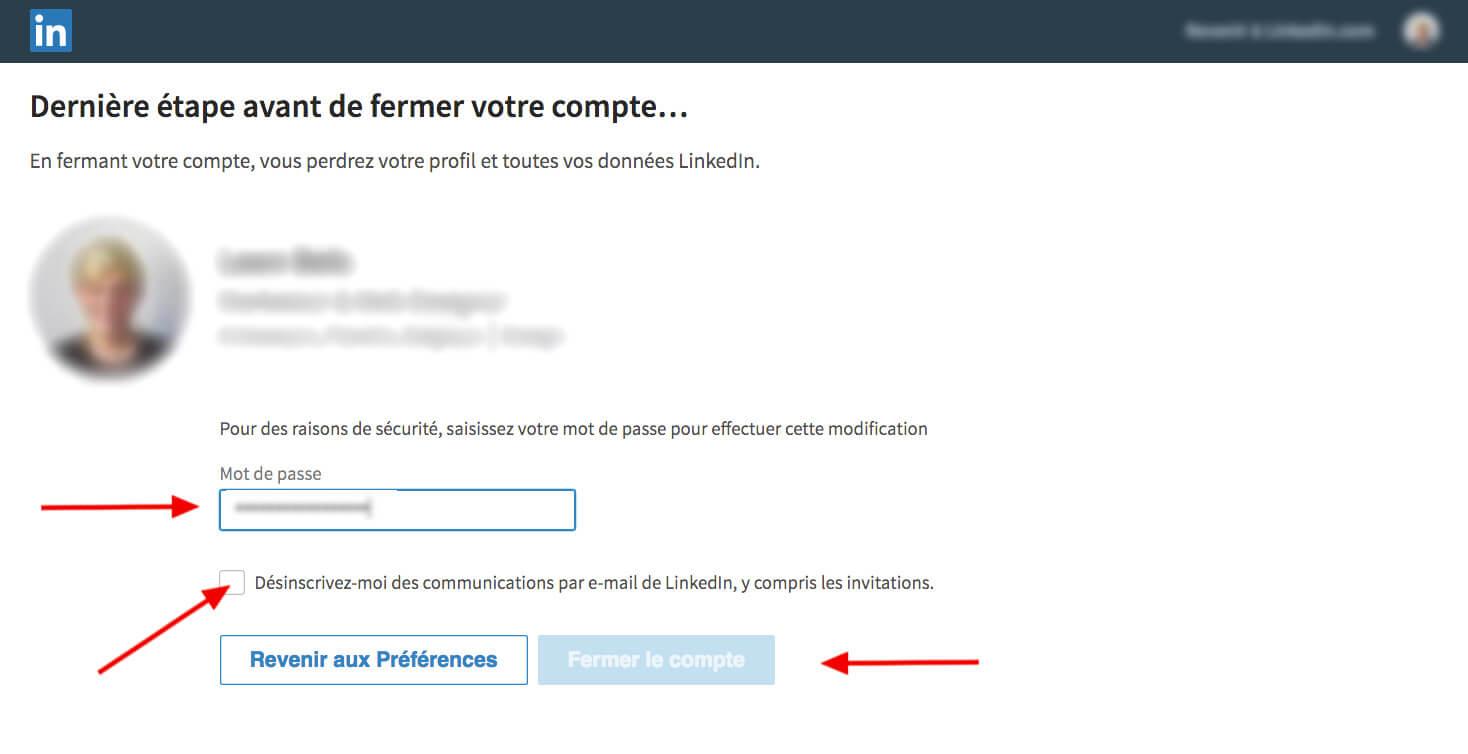 LinkedIn - step 4