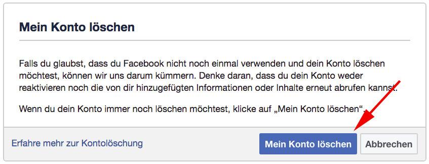 Facebook - delete1