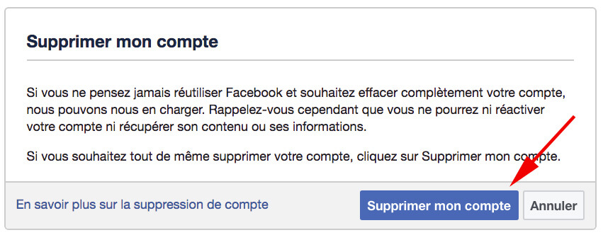 Facebook - Delete 1