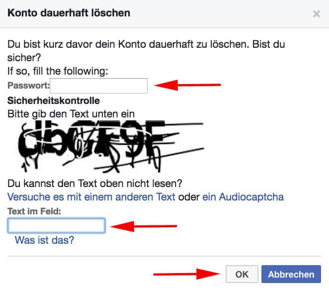Facebook - delete2