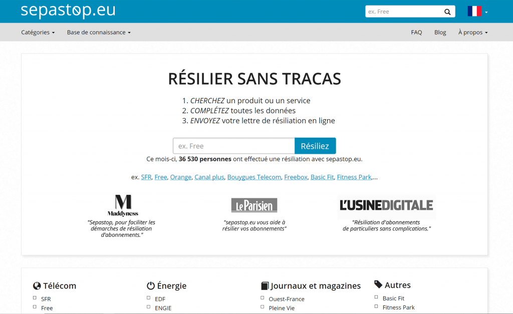 Homepage sepastop.eu