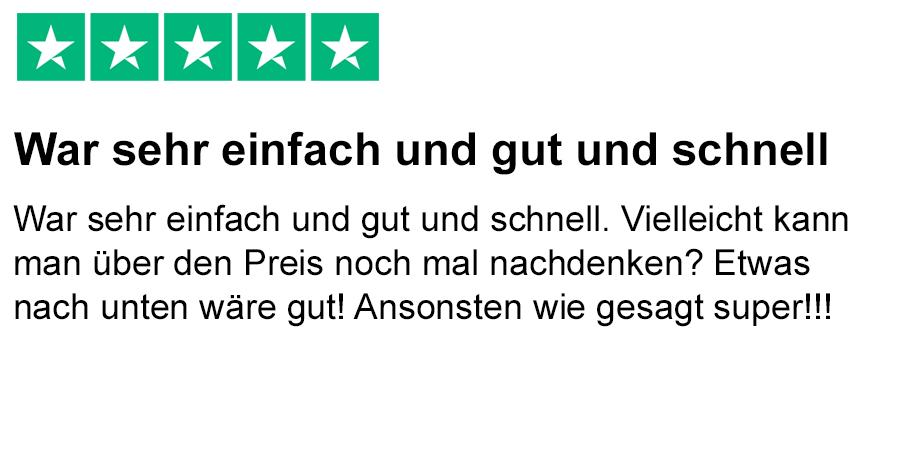 trustpilot review - Mcfit Kundigung Muster